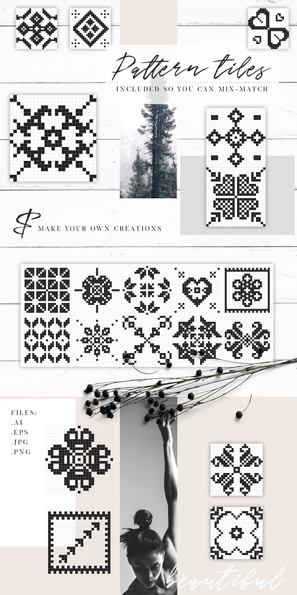 The Romantics - Patterns Bundle in Patterns - product preview 12