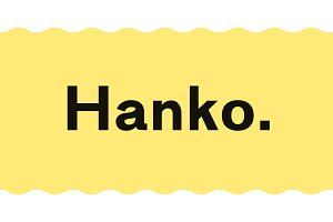 Hanko | A Powerful Sans Serif Family