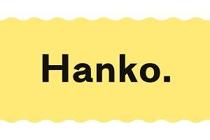 Hanko | A Powerful Sans Serif Family