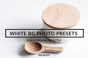 WHITE BG PRODUCT PHOTO PRESET
