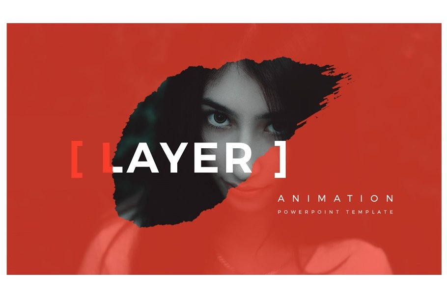 LAYER Animation PowerPoint Template in PowerPoint Templates - product preview 8