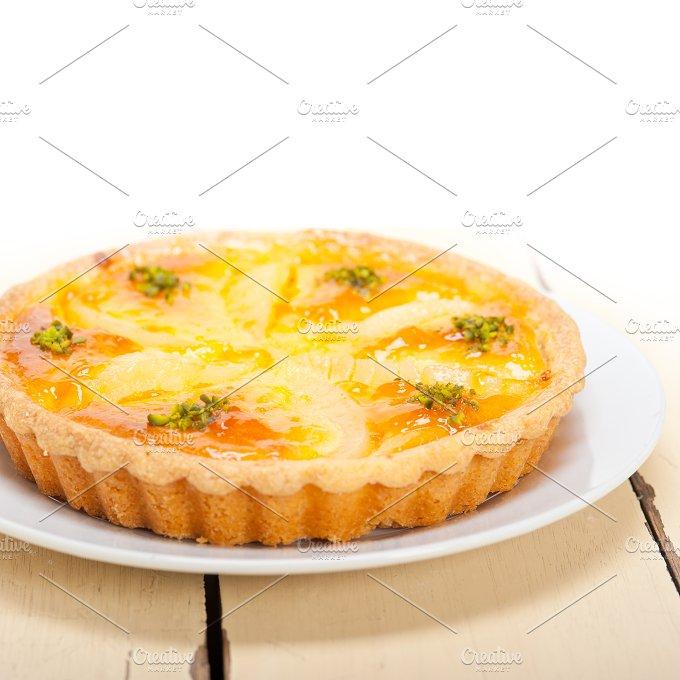 fresh pears pie cake 002.jpg - Food & Drink