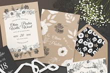 Summer Nicety Wedding Suite by Hanna Symonovych in Invitations