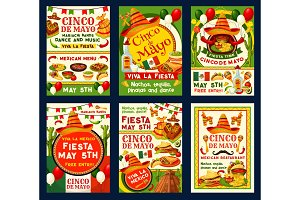Cinco de Mayo holiday party invitation banner