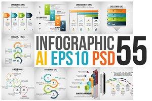 Infographic Set 55