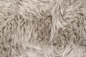 Sheep fur Natural sheepskin rug