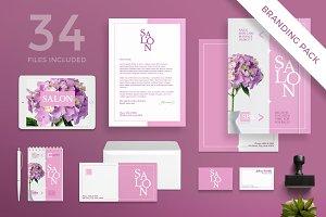 Branding Pack | Beauty Salon Spa