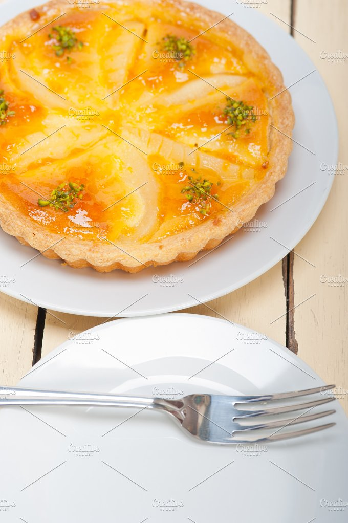 fresh pears pie cake 047.jpg - Food & Drink