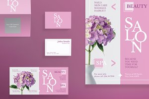 Print Pack | Beauty Salon Spa