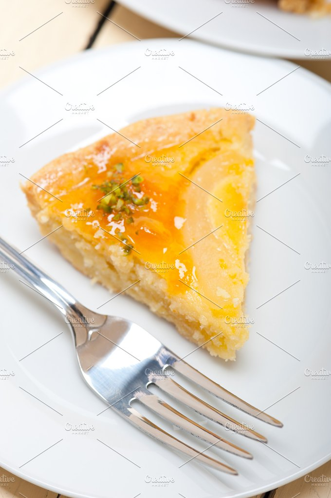fresh pears pie cake dessert 017.jpg - Food & Drink