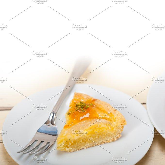 fresh pears pie cake dessert 023.jpg - Food & Drink