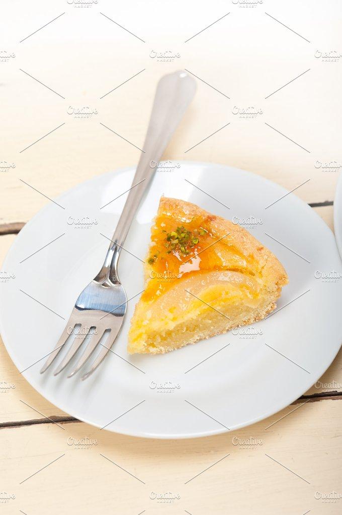 fresh pears pie cake dessert 027.jpg - Food & Drink