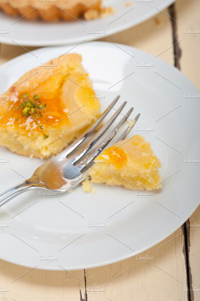 fresh pears pie cake dessert 029.jpg - Food & Drink