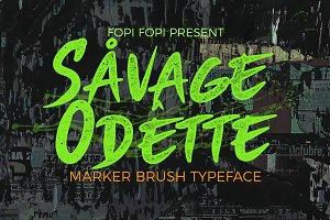 Savage Odette Typeface