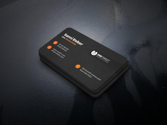 Minimal Elegant Business Card