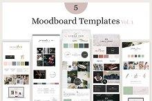 Mood Board Template Bundle - Vol. 1