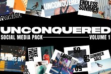 Unconquered - Social Media Pack