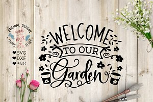 Welcome to our Garden Cut File