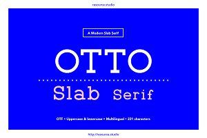 OTTO Slab Serif