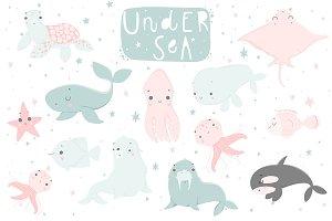 Under sea - nursery set♥