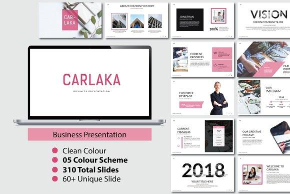Carlaka Business Powerpoint Presentation Templates Creative Market