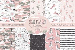 Safari Sunset pattern kit