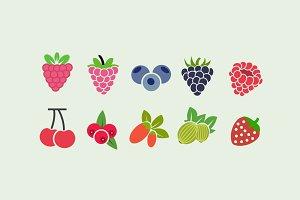 10 Berry Icons