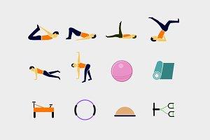 12 Pilates Icons