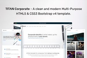TITAN Corporate - HTML Template