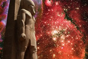 Ramses II and Butterfly Nebula