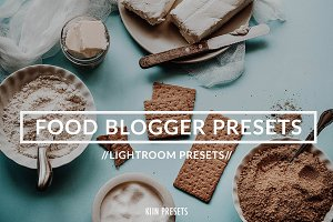 FOOD BLOGGER LIGHTROOM PRESETS