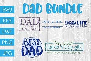 Dad SVG Bundle for Cricut Silhouette