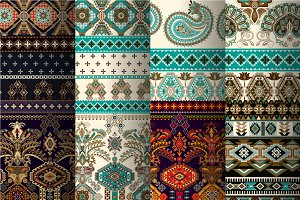 8 Ornamental Ethnic Patterns