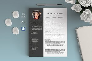 2 Page Resume/CV - April