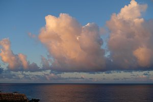 view on atlantic ocean