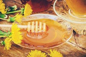 Honey from dandelion