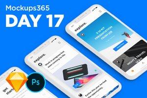 Mockups365: Day 17