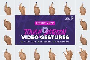 Video Gestures [ Front View ]