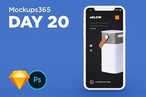 Mockups365: Day 20