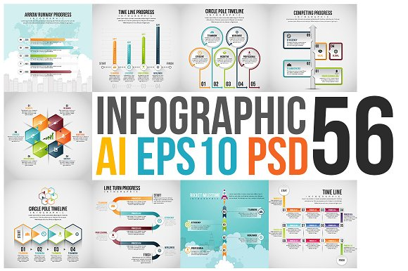 Infographic Set 56