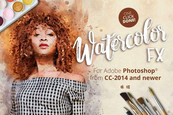 Watercolor FX - Photo effect plugin