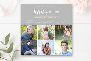 Senior Photo Sessions Template