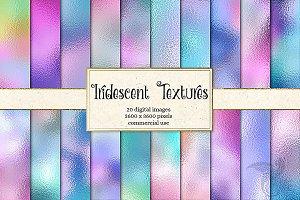 Iridescent Foil Textures