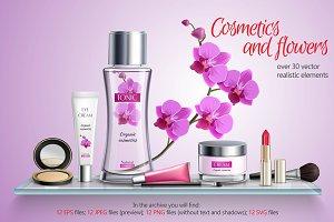 Natural Cosmetics Set
