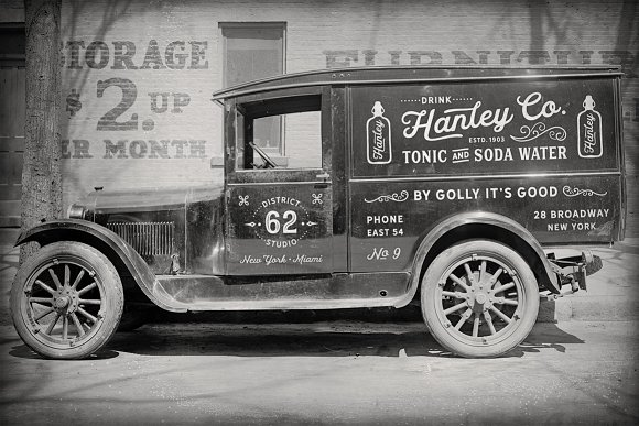 Hanley Font Collection in Script Fonts - product preview 1