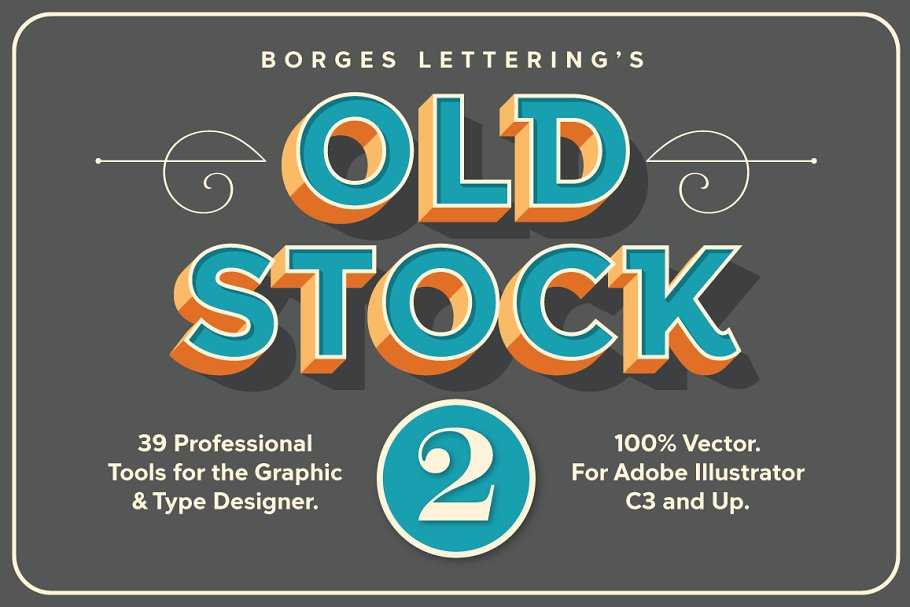 Old Stock II - Vector Design Tools  ~ Illustrator Add-Ons ~ Creative