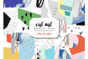 CUT out graphic pack.