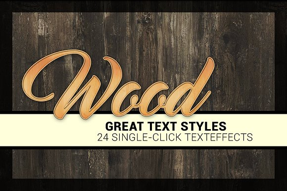24 Styles Wood Collection