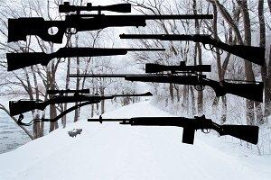 6 Rifle Vectors