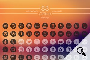 88 OFFICE icons
